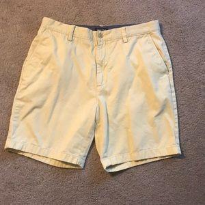 Nautica size 34W men's yellow shorts